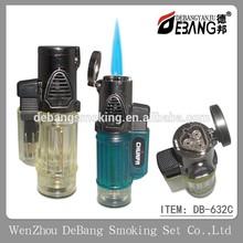 Cigarette Lighter Triple torch Lighter,portable gas burner torch Lighter DB-632C