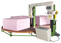 TAIWAN Sunkist polyurethane PU horizontal circular foam cutting Machinery