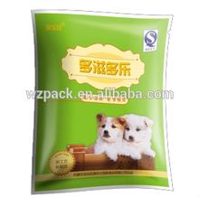 20kg pearly laminated pp woven pet food bag,rice bag