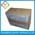guangzhou fábrica recicláveis característica padrão caixa ondulada da caixa especificações