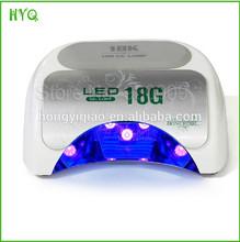 High Quality 18W LED nail art lamp for salon shop uv gel nail polish curing dryer Nail Beauty Equipment