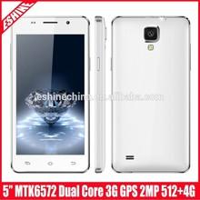 5.5 inch 3G Android 4.4 Smart Phone, MTK6572 Daul Core 1.2GHz, RAM: 512MB, ROM 4GB,Dual SIM
