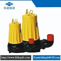 AS/AV vertical inline centrifugal submersible sewage 5hp water pump