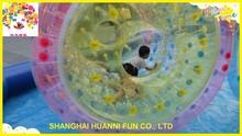 CE Gemany zipper water roller ball,water walking roller ball,big plastic hamster ball toys