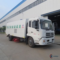 4*2 DONGFENG Kingrun 6m3 Road Sweeper for Sale