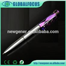 2015 Unique design light ball pen best gift led pen for kids