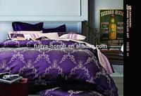 wholesale luxury cotton satin jacquard bedding sets