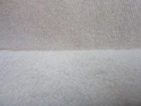 20% hemp 80% organic cotton fleece 250gsm, hemp knitted fabric