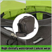 fashion Durable canvas Fashion and hot sell updated waterproof padded camera bag