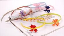2015 Fancy designer knot ornament kids head wrap