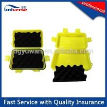 Plastic seal box include foam , rubber gasket