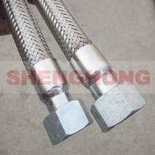 nut joint stainless steel braided pipe