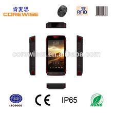 Hot new model 1d 2d laser barcode scanner, rfid reader, big battery 3000mAh, fingerprint sensor handheld