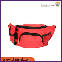 Outdoor Sport Waist Belt Bag with Compartment Pockets