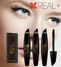 Vegetable carbon black REAL PLUS 3D fiber mascara/natural, high quality