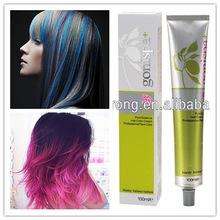 Precio de fábrica no antialérgico venta al por mayor mejor tinte para el cabello de eliminación de amoniaco