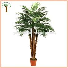 plastic mini palm tree hot sale to abroad