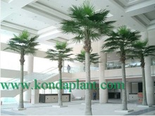 2015 Best selling artificial tree ,outdoor /indoor decorative palm trees,decorative metal palm trees