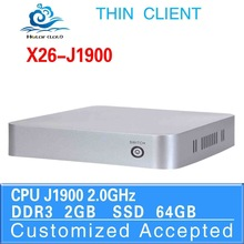 good quality thin mini pc xbmc server computers X26-j1900 2G ram 64 ssd support Home Premium or embedded OS