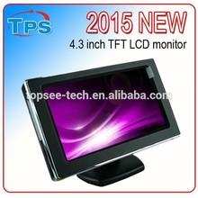 Best selling waterproof 4.3 inch reversing car monitor