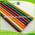 China fabricante 120*2.2 130*2.2 150*2.2cm de madera palo de la fregona en escobayrecogedor