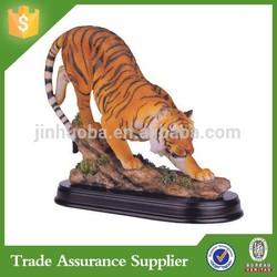 Wild Cat Bengal Tiger Collectible Animal Decoration Figurine Statue