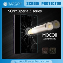 MOCOll Brand Trending Hot Products 2015 Mobile Phone Accessories Factory in China,Tempered Glass Screen Protector For SONY Z1