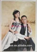 framing canvas paintings portrait