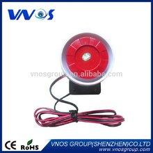Best quality antique wired flashing sound 12 volt siren