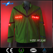 LED cycling jersey 2015 team, USB rechargeable