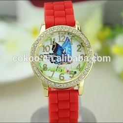 New Fashion Casual Watch Wristwatches Girl Women Quartz Watch Butterfly Ladies Sports Watch For Women