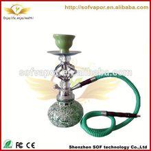 shisha vaporizers cheap 2 hose hookah hot selling glass hookah low price great flavor of shisha