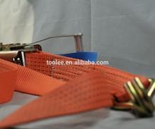Tie Down lashing Strap, Webbing Belt with Ratchet Buckle 50mm