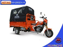 Heavy loading tricycle with cargo cover