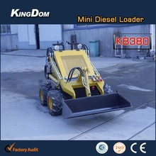 Experienced mini skid loader factory with new style skid steer loader for sale