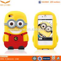 3D cell phone case/3D sublimation siliocne cell phone case/mobile phone case cover