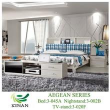 Storage King Size Bedroom Furniture,Upholstery Headboard