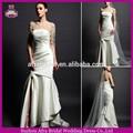 sd1630 mode robes de mariée sirène robe de mariée en satin pour de larges épaules