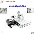 Trabalhar madeira China máquina de perfuração CNC 6040z-s80, 6040 CNC gravador, 3d moagem e máquina de perfuração