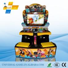 2015 Popular 3D Street Fighte Arcade Fighting Game Tekken Tag Tournament 2/Arcade Game King of Fighter/Video Fighting Machine
