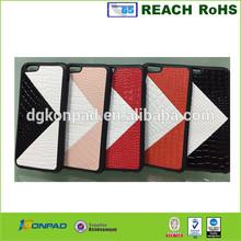 high quality crocodile skin PU leather case for iphone 6 / 6 plus