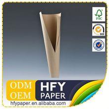Cost-Effective Scroll Paper Dark Brown Melamine Board
