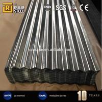 0.14 -0.8mm Color Galvanized Corrugated Sheet Price / aluminum corrugated plate