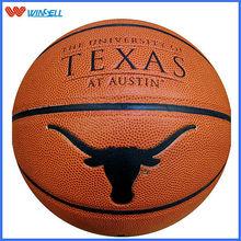 Winsell black 2# pvc laminated basketball