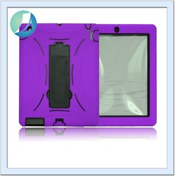 Hot sales shockproof rubber anti-shock case for ipad 2