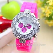 Vintage lady watch, rhinestone lady watch, New Style promotional lady watch