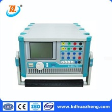 Secondary Injection Test Set 3 Phase Relay protection calibrator