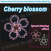 AC220~240V high quality artificial flowers cherry blossom led motif light