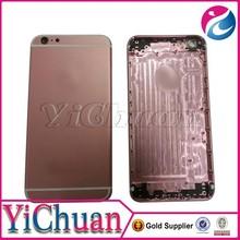 Original golden for iphone 6+ back cover housing, for 6+ housing white black