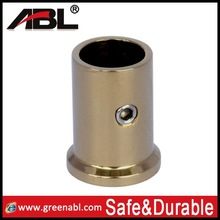 China manufacturer 304 ss satin surface pipe holder